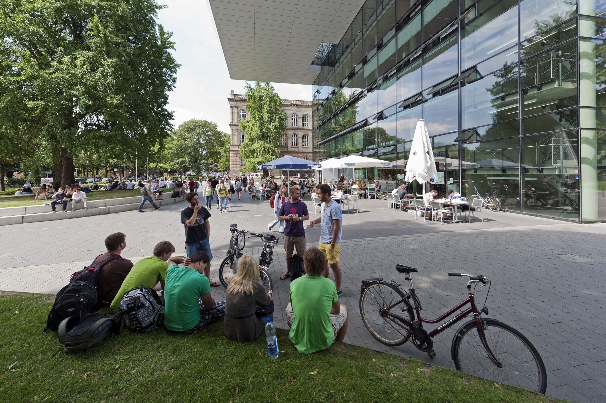 Studenten aan de RWTH Aachen (Foto: Peter Winandy)