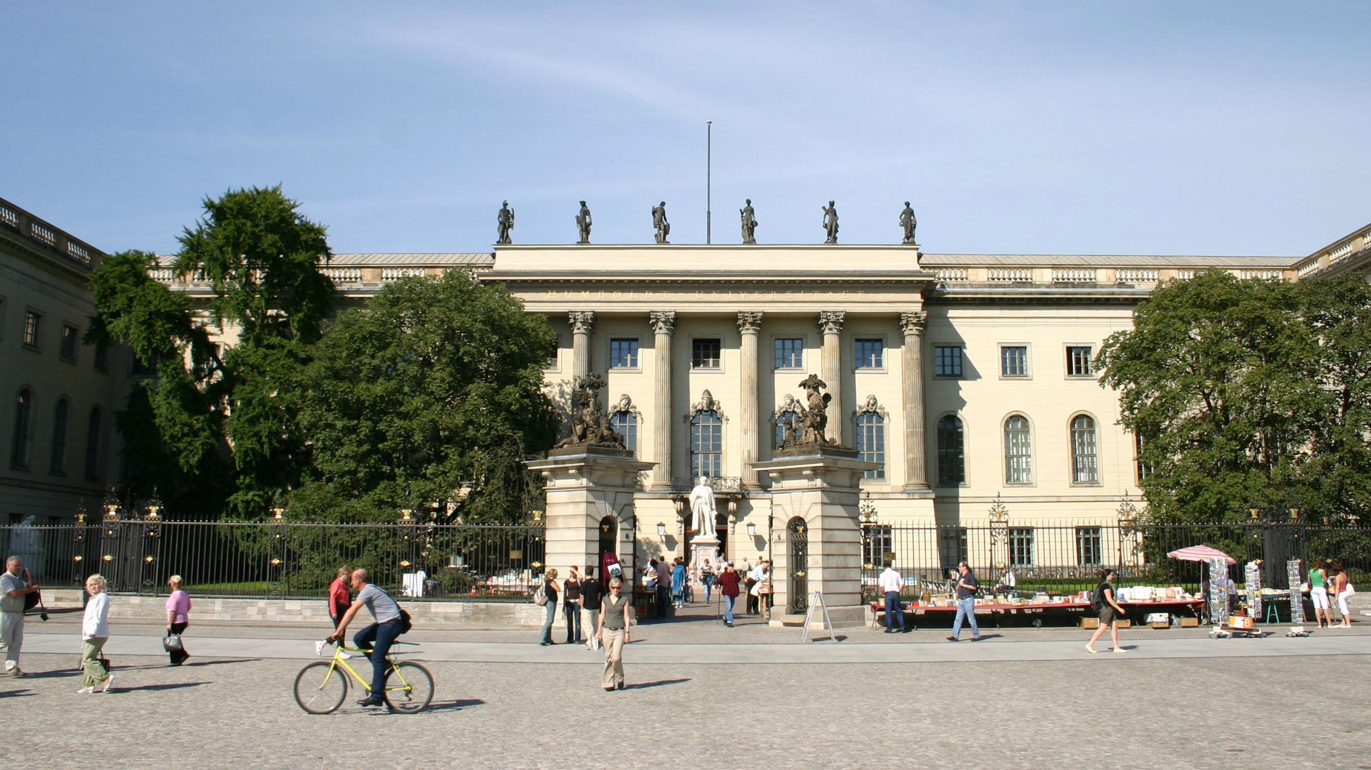 Hauptgebäude © Humboldt Universität Berlin, foto: Heike Zappe