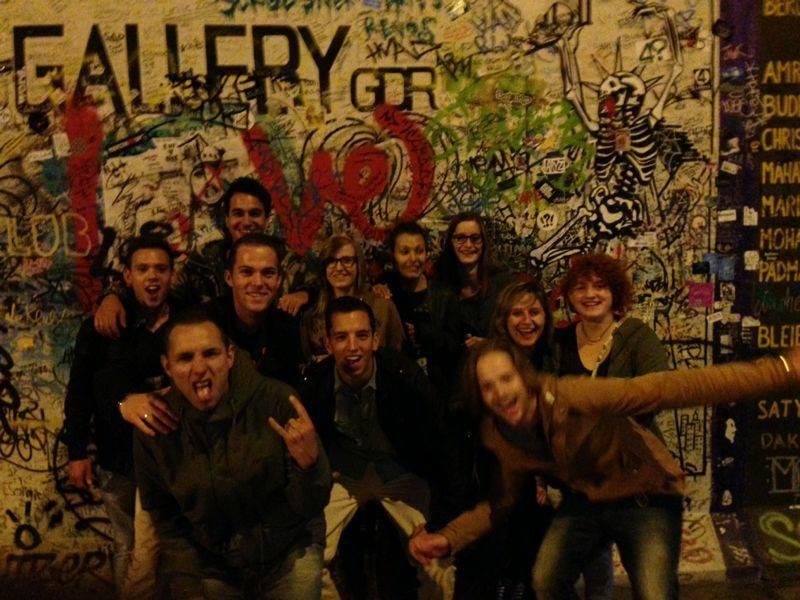 Studenten in Berlijn © Valentine Versteegen