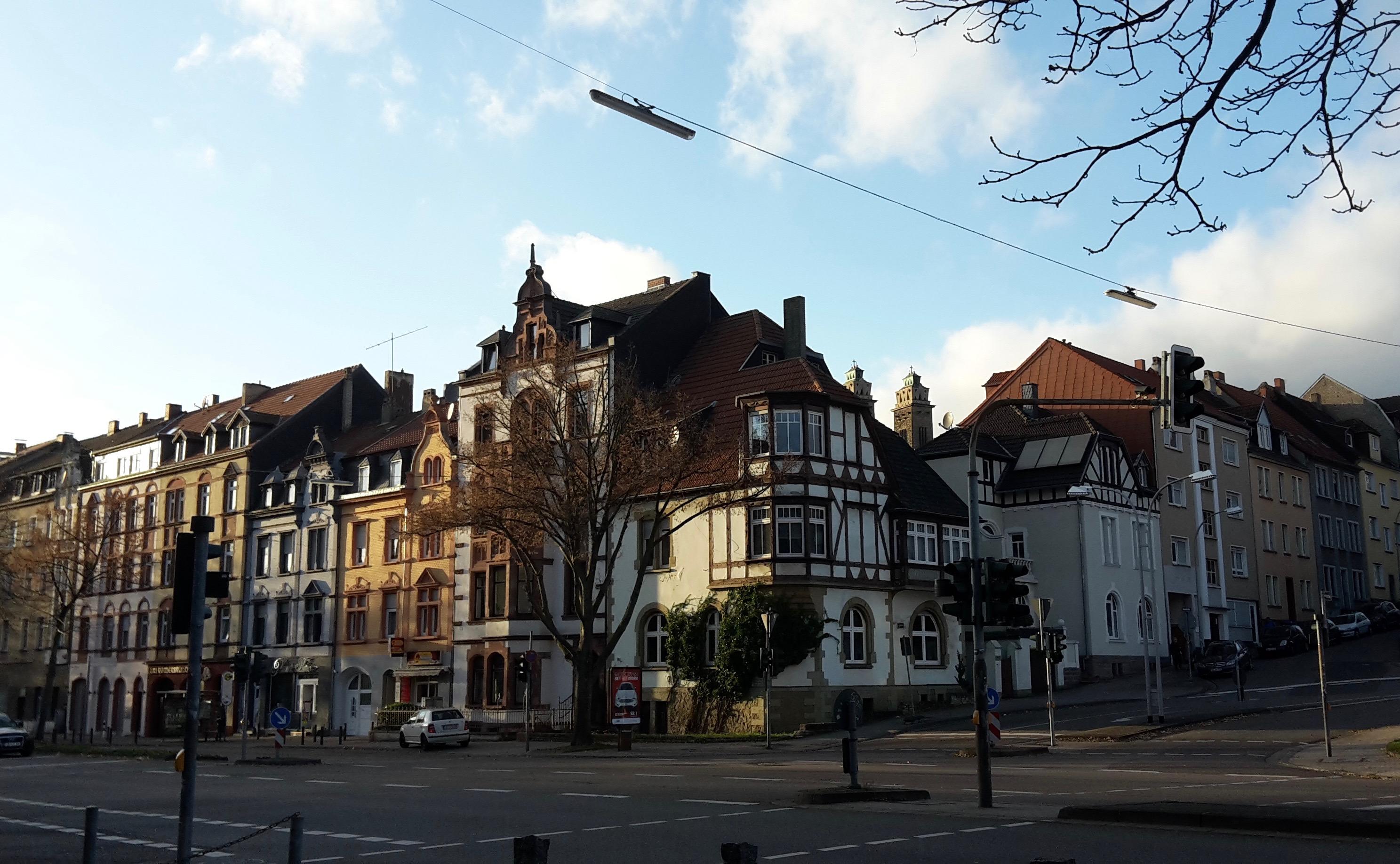 In de binnenstad van Saarbrücken (Foto: Esther van den Berg)