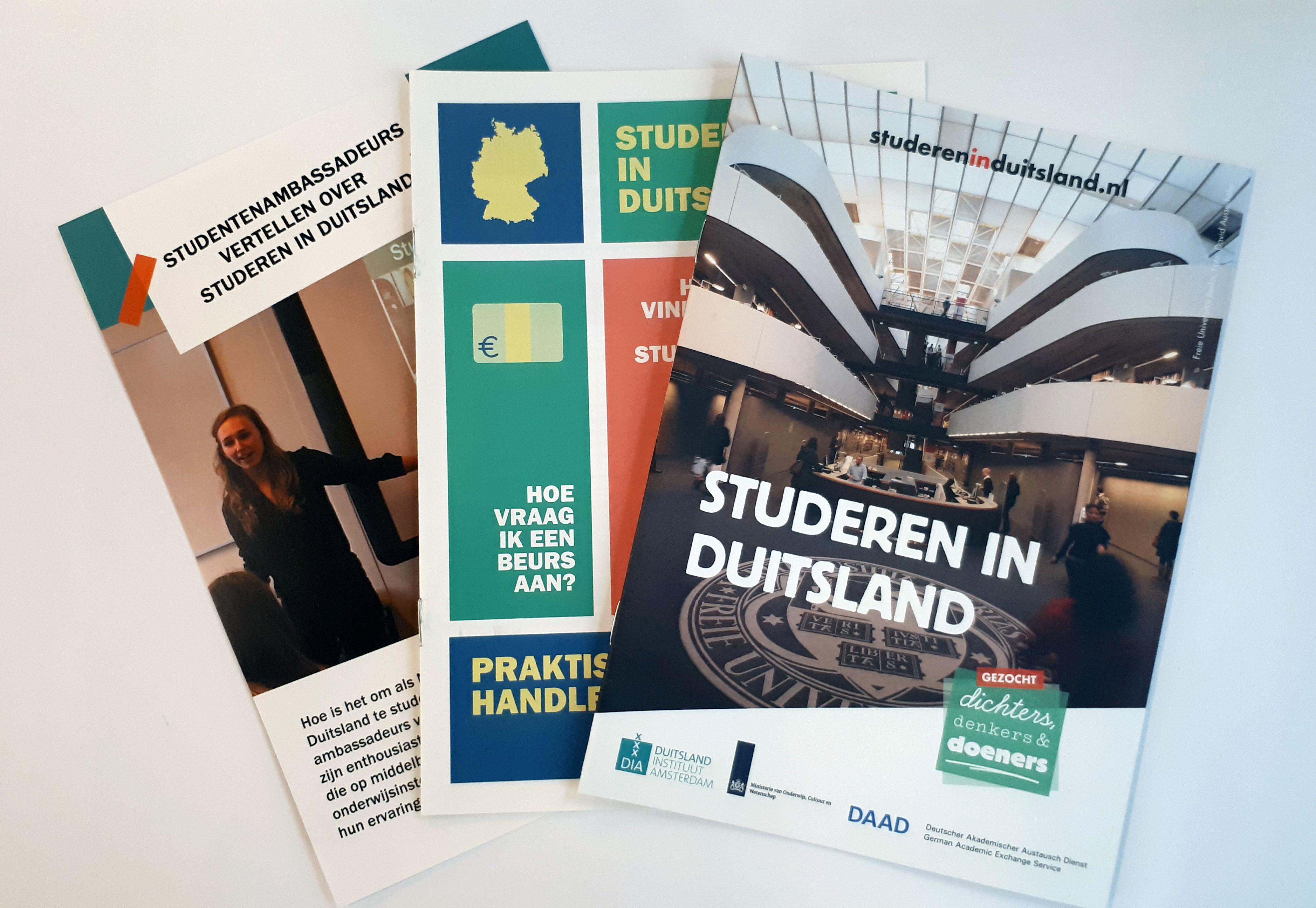 Informatiemateriaal Studeren in Duitsland