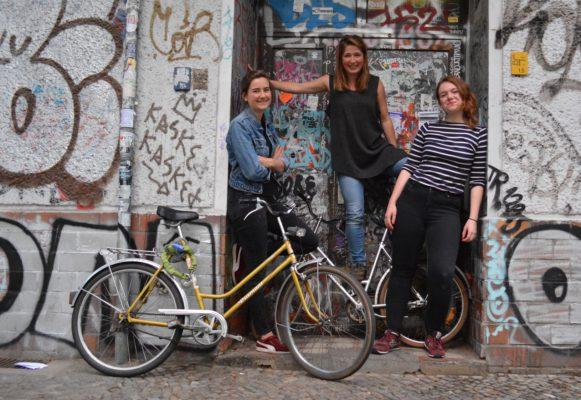 Tessa, Laura en Merel studeren met een DIA-Stipendium in Berlijn (Foto: Duitslandnieuws)