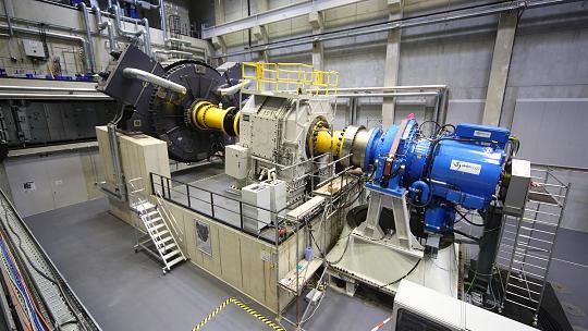 Wind Turbine Test Stand RWTH Aachen (Foto: Edze Algera)