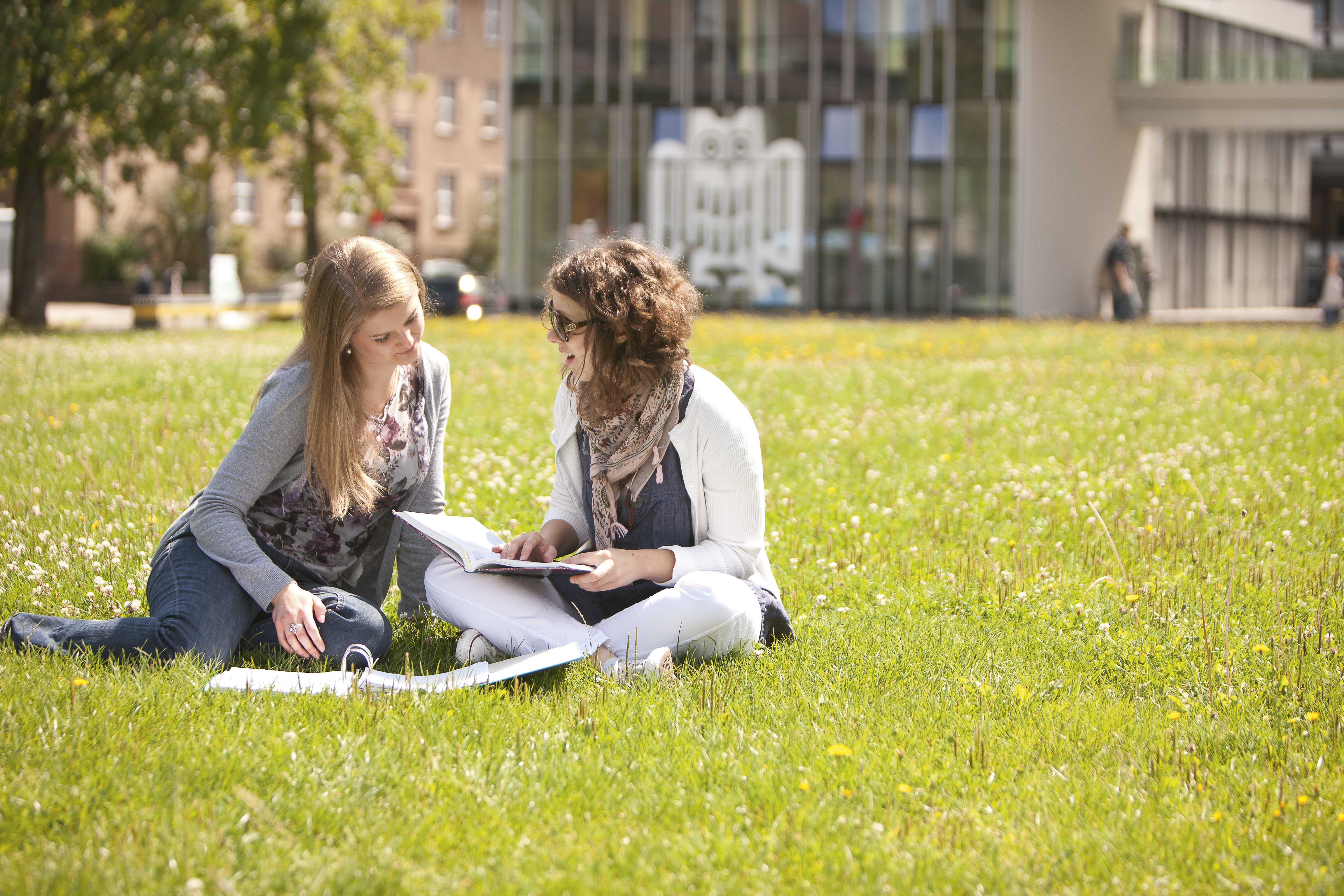 Studenten in Saarland