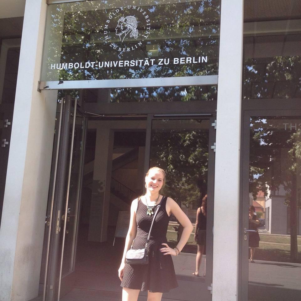 Nora in Berlijn
